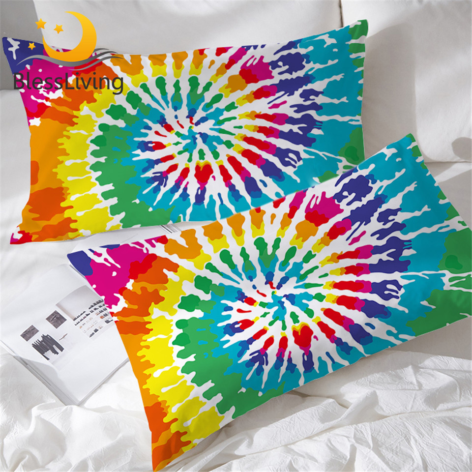 RAINBOW TYE DYE TIE DYE Cover SINGLE Light Switch Plate