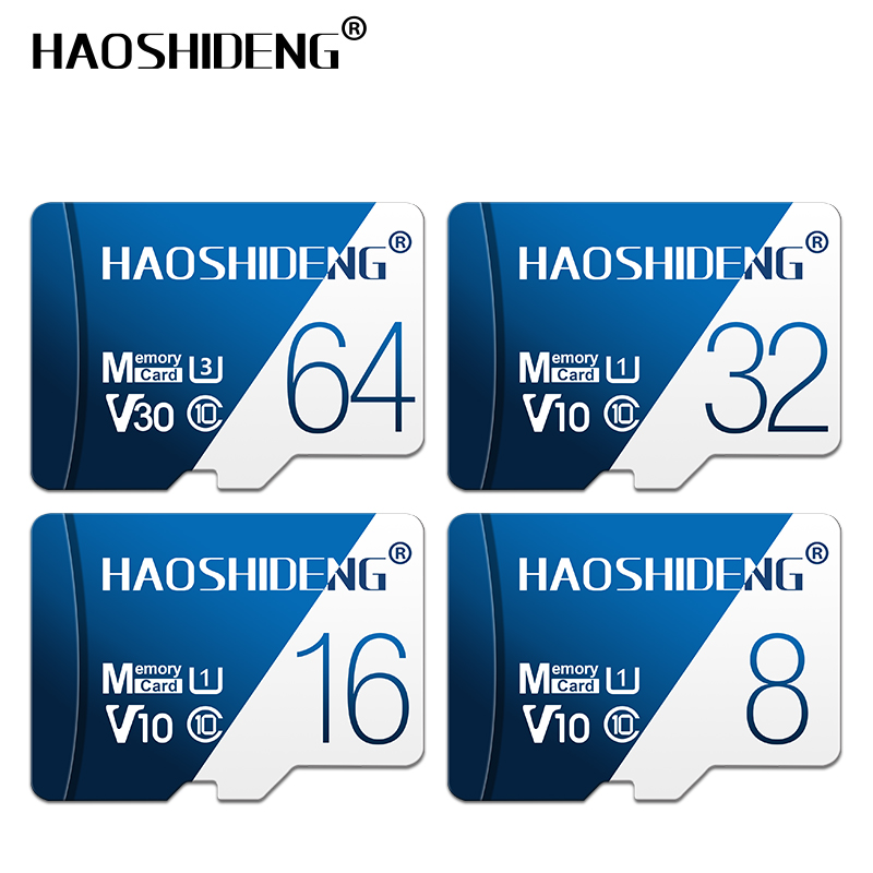 Image 2 - High quality micro sd card 32gb 64gb 128gb Class 10 cartao de memoria 8GB 16GB micro drive mini Memory card TF card flash map-in Micro SD Cards from Computer & Office