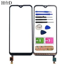 Mobile Touch Screen For Leagoo M12 Touch Screen Digitizer Panel Lens Sensor Front Glass TouchScreen Tools 3M Glue Wipes