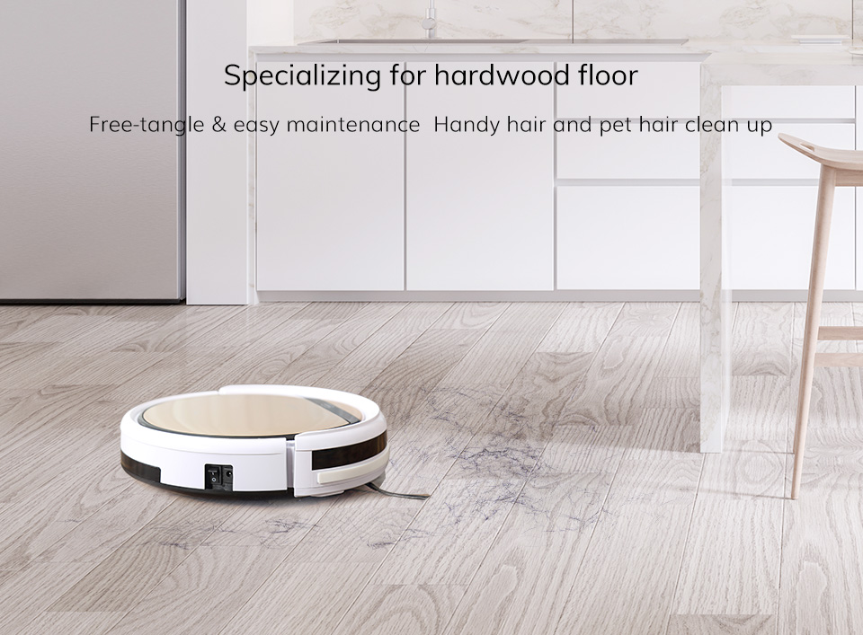 H0abef2462f5c4c50b3ea1c2599586ef8T ILIFE V5sPro Robot Vacuum Cleaner vacuum Wet Mopping Pet hair and Hard Floor automatic Powerful Suction Ultra Thin disinfection