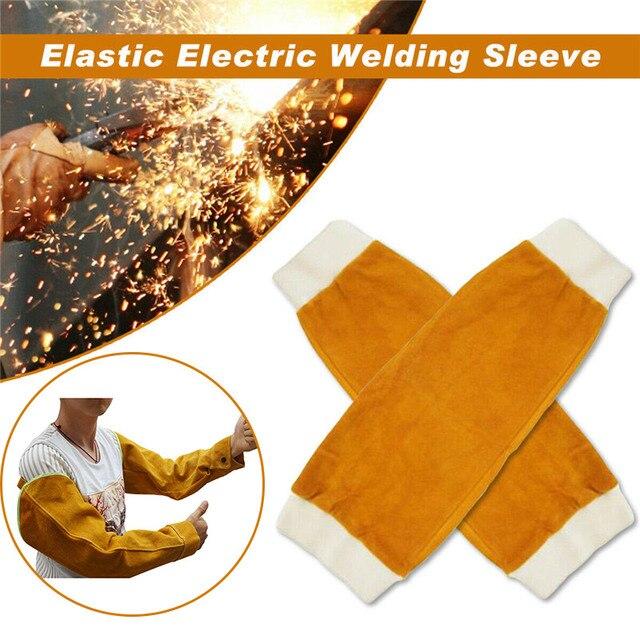 1 Paar Hittebestendige Lassen Arm Mouwen Bescherming Manchet Veiligheid Voor Werknemers NC99