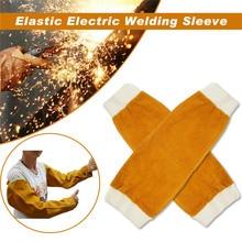 1 paar Wärme Beständig Schweißen Arm Ärmeln Schutz Manschette Sicherheit für Arbeiter NC99