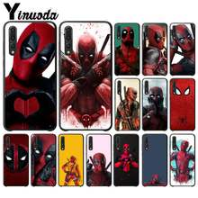 Yinuoda Cool Marvel Deadpool Custom Photo Soft Telefoon Case Voor Huawei VIEW20 Honor 5A 10I 20 Iplay 8C 9X Pro y9 2018 Mobiele Gevallen(China)