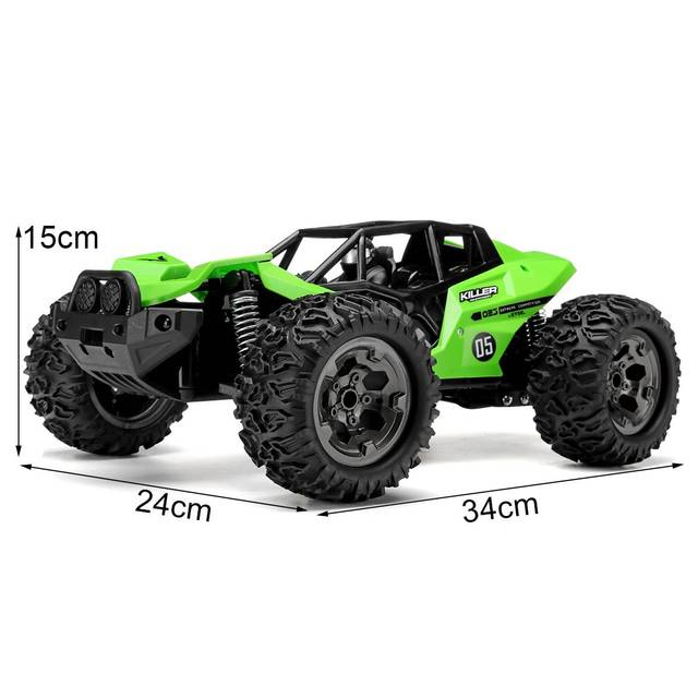 NEW 1:12 RC Car Scale Remote Control Car 48 +km/h High Speed Off Road Vehicle Toys RC Car for Kids and Adults 5