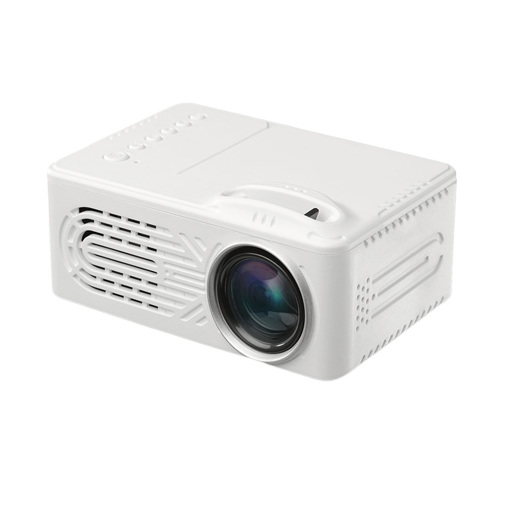 814 1080P Full Hd Media Player Household Lcd Projector Home Theater Movie Device Portable Digital Projector