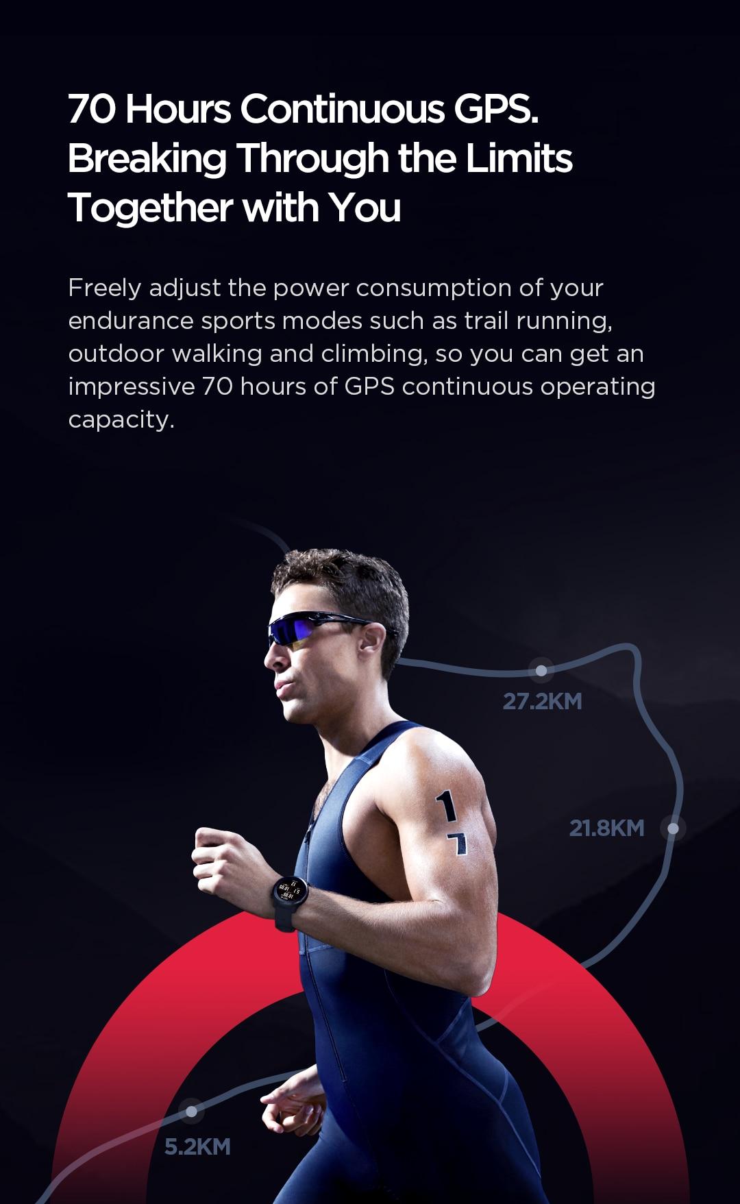 Amazfit Stratos 3 Smartwatch 7