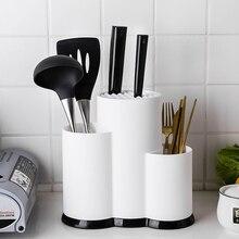 Przechowywanie wielofunkcyjne stojak materiał gumowy termoplastyczny uchwyt noża organizator narzędzie kuchenne akcesoria kuchenne łyżka regał magazynowy