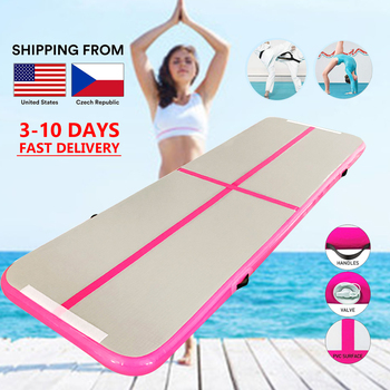 1-3m Gymnastics Air Track Olympics Gym Yoga Wear-resistant Airtrack Gym Mattress water yoga mattress for Home/Beach/Water yoga