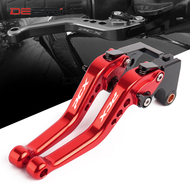 High Quality For HONDA PCX 125 PCX125 PCX 150 PCX150 Motorcycle Accessories Short Brake Clutch Levers 7 Colors