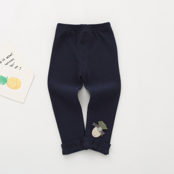 navy cotton leggings