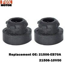 Bracket-Holder Support 180SX 240SX 350Z Nissan Radiator Rubber-Mount Upper for 2x 180sx/200sx/240sx/..