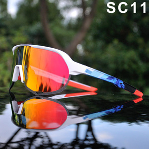 Image 5 - Brand Outdoor Sports Cycling Glasses S2 S3 Men Cycling Goggles Mountain Bike Cycling Eyewear UV400 Peter Riding Sunglasses