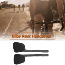 Carbon Fiber Bicycle Triathlon Bicycle Extender Aero TT Rod End Handlebar Extension Rod Accessories(China)