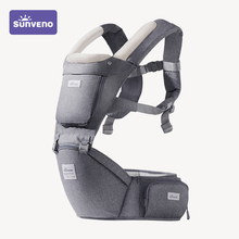 Sunveno Baby Carrier Infant Hip Seat Carrier Bebe Kangaroo Sling for Newborns Backpack Carrier Baby Travel Activity Gear cheap 2-24 months CN(Origin) 20KG Cotton Polyester Front Carry Front Facing Face-to-Face Back Carry Side Carry Backpacks Carriers