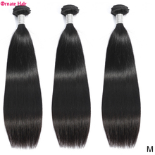 Hair-Bundles Brazillian-Hair Deal Natural-Color 100%Straight Non-Remy Ornate