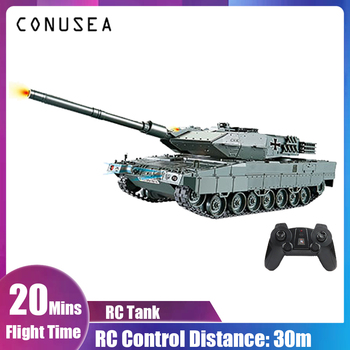 RC Battle Tank Military War Heavy Large Interactive Remote Control Toy Car with Shoot Bullets Model Electronic Boy Toys children creative diy assembled building block remote control toys rc military car model toy with remote control for kids
