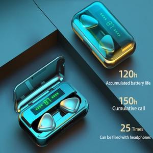 Image 2 - TWS Bluetooth 5.0 אוזניות 9D HIFI 2000mAh טעינת תיבת אלחוטי אוזניות LED תצוגת אוזניות אוזניות ספורט עמיד למים