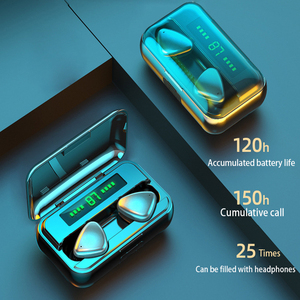 Image 2 - TWS Bluetooth 5,0 Kopfhörer 9D HIFI 2000mAh Lade Box Drahtlose Kopfhörer led anzeige Earbuds Headsets Sport Wasserdicht