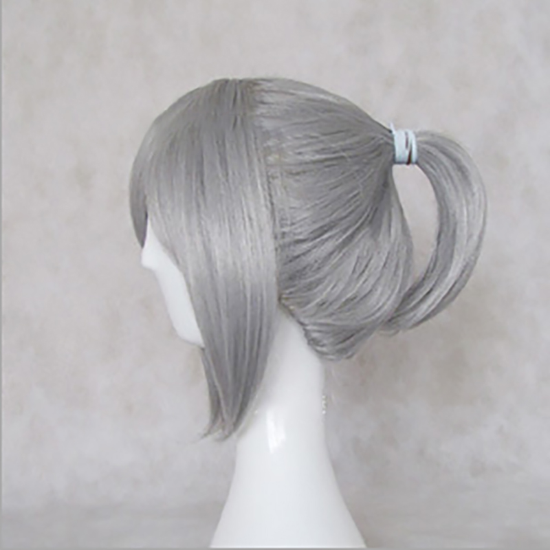 HAIRJOY Synthetic Hair Wigs Vocaloid Kagamine Len Blonde Grey Balck Red Brown Cosplay Wig High Temperature Fiber 5 Colors 2