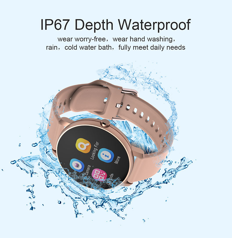 H0ac19ad503ed430f821538251a4c32e2j 2020 Full Touch Smart Watch Heart Rate Fiteness Tracker Blood Pressure