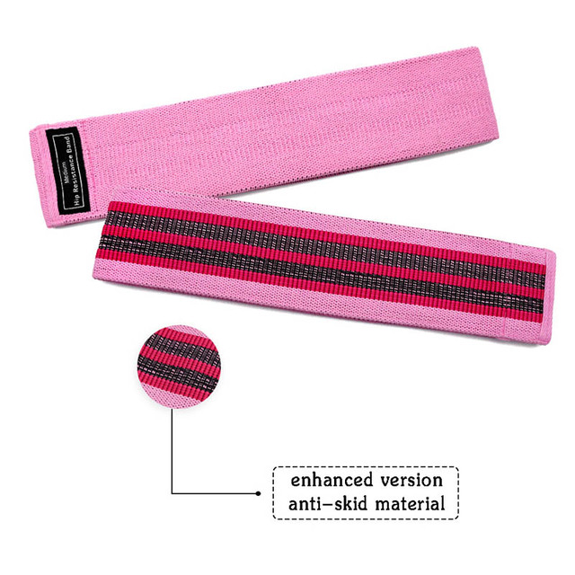 3 pcs fabric resistance bands booty band set gym equipment workout elastic rubber band for yoga sports fitness hip training 6