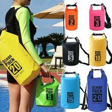 40^25L For Canoe Floating Boating Kayaking Camping Dry Bag Sack Waterproof Backpack(China)