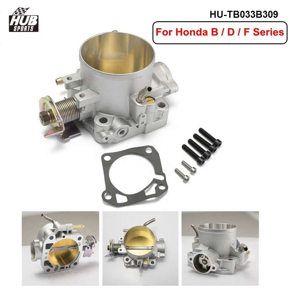 K-Tuned 70mm Cast Throttle Body for Honda B//D//H//F Series Engines