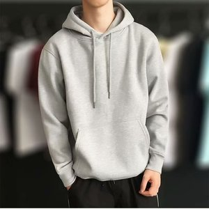 Winter Warm Knitted Men's Hooded Sweater Man Loose Even Hat Trend Loose Coat Teenagers Bring Hat Long Sleeve Casual Pullover