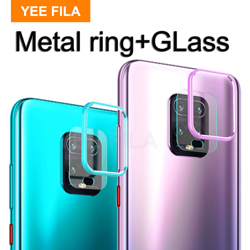 Case For xiaomi redmi note 9s 9 pro max note9 s Case Glass Camera Back Lens Protector Cover on redmi note 9 camera 9S Pro Note9S(China)