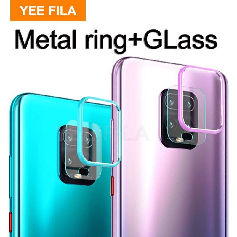 Case For xiaomi redmi note 9s 9 pro max note9 s Case Glass Camera Back Lens Protector Cover on redmi note 9 camera 9S Pro Note9S(China)
