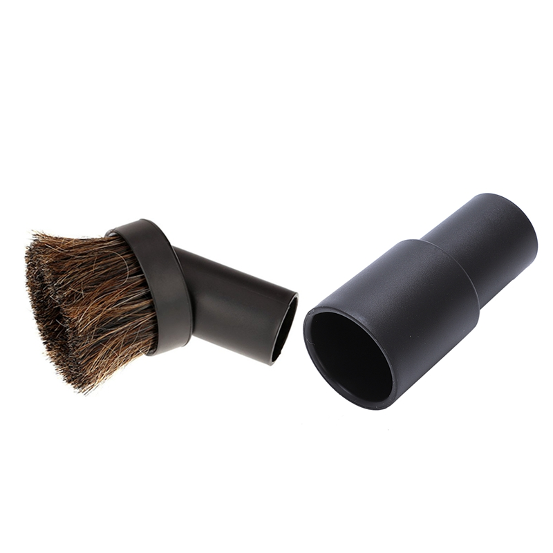 32Mm Dusting Brush Dust Tool Attachment For Vacuum Cleaner Round Horse Hair With Vacuum Cleaner Adapters Vacuum Cleaner Connecti