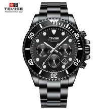 TEVISE Men Watches Top Luxury Brand Full
