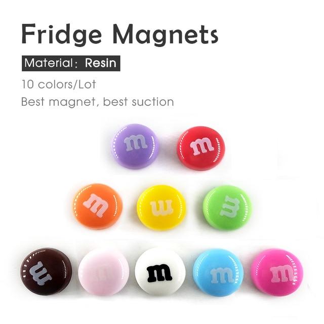 Diy bean resin fridge magnets crea