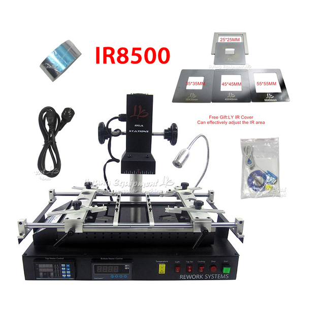 Naprawa BGA Rework Machine LY IR8500 V.2 IR stacja lutownicza BGA płyta główna telefon komórkowy Chip naprawa RU i ue bez podatku