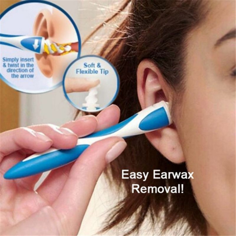 New Ear Wax Removal Tool Soft Spiral Ear Cleaning For Ear Wax Removal Ear Cleaner Ears Plugs Spirals Care Tool 2020