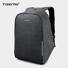 Tigernu Anti theft 15.6inch Laptop Backpacks With Rain Cover Casual Hard Shell Men Women Mochila School Travel Bag For Teenagers