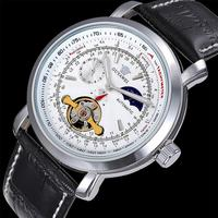 Relógios masculinos mecânicos esqueleto oco relógio automático auto-liquidação masculino marca de luxo esporte relógio de pulso