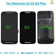 For Motorola Moto G2 XT1063 XT1064 G3 XT1544 G4 Play XT1601 XT1602 lcds display
