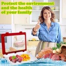 Creative Food Preservation Tray  Fresh Keeping Spacer Organizer Preservate Refrigerator Storage Container
