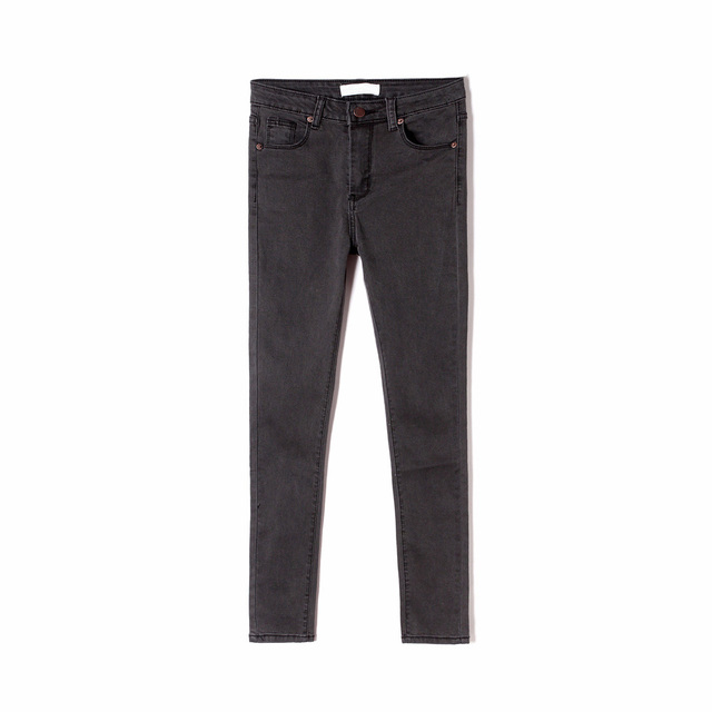 Women's High Waist Jeans Skinny Jeans Woman Plus Size Black Mom Jeans Femme Pencil Denim Pants Vaqueros Mujer Spodnie Damskie