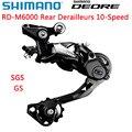 Shimano DEORE RD M6000 Shadow задний переключатель для горного велосипеда M6000 SGS GS MTB переключатель 10 скоростей 20/30 скоростей запчасти для велосипеда