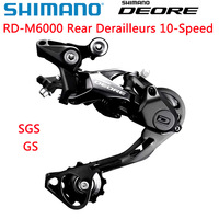 Shimano DEORE RD M6000 Shadow Rear Derailleurs Mountain Bike M6000 SGS GS MTB Derailleurs 10 Speed 20/30 Speed Bicycle Parts