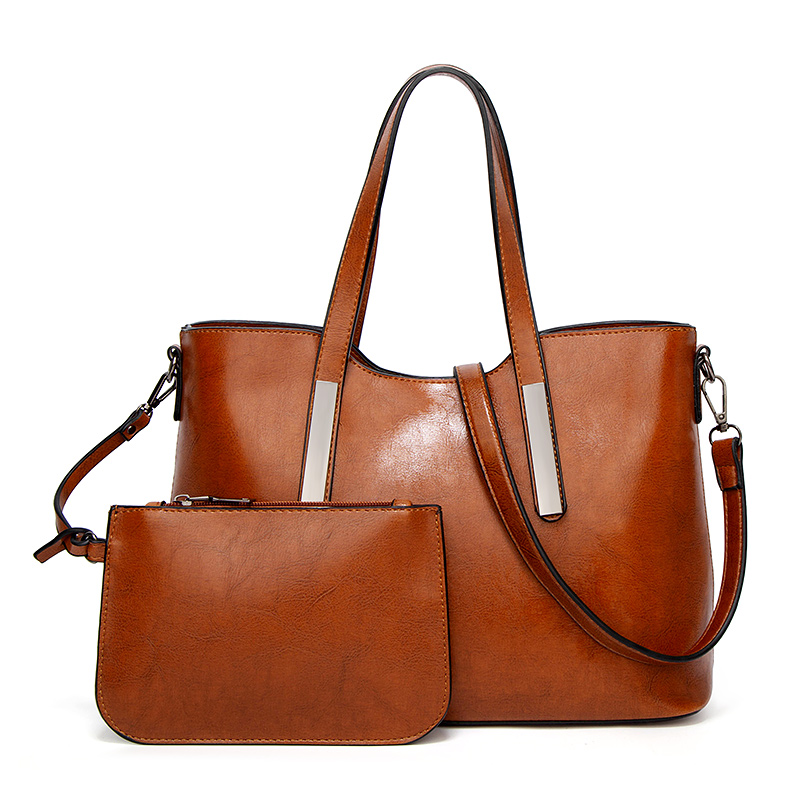 H0ac46f9af6154588aa8ea0bb118e801aM - Women's Vintage Handbag | Oil Wax Leather