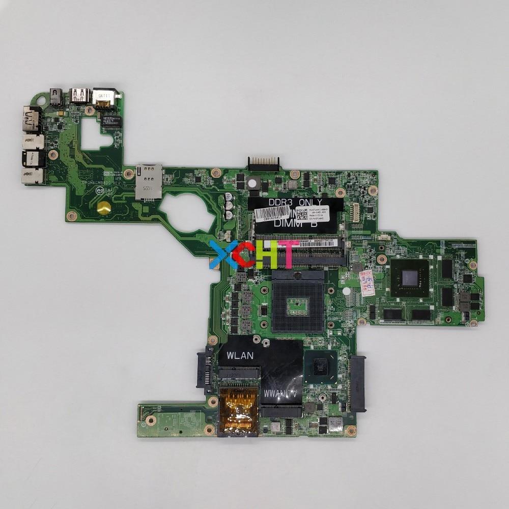 CN-0714WC 0714WC 714WC w GT540M/2G Графика DAGM6CMB8D0 HM67 для Dell XPS L502X ноутбук ПК материнская плата протестирована
