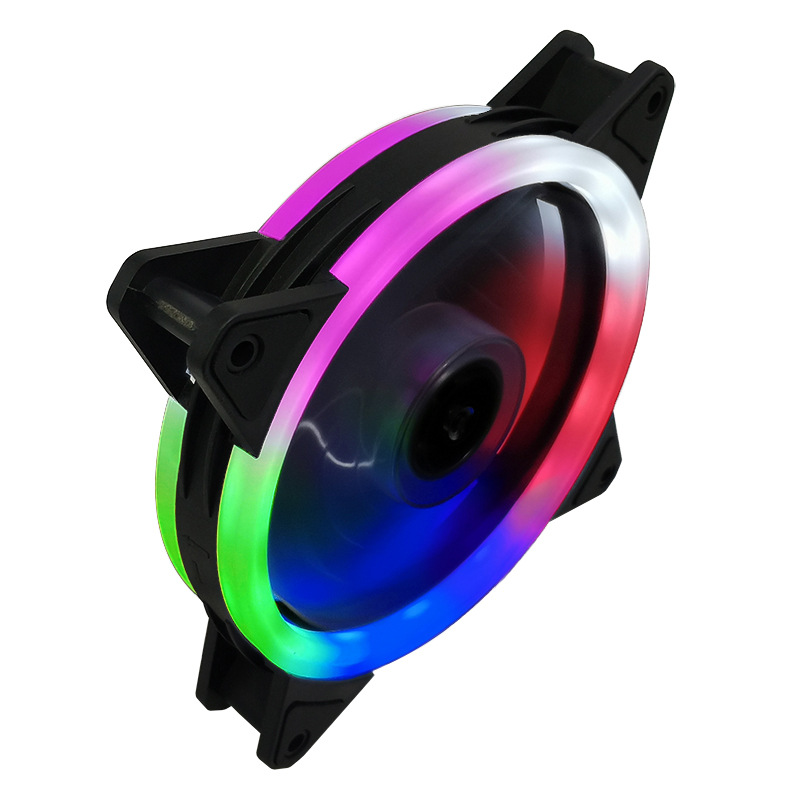 Case Fan  120mm 3pin Colorful Blue Red White Green  Bearing LED Computer Cooling Fan Radiator Ventilador 6