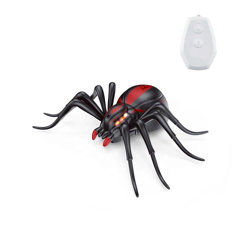 Realistic Shape Simulation Children Remote Control Spider For Sale MJ076475