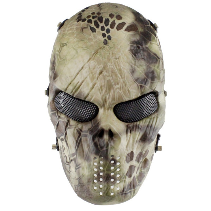 paintball máscara airsoft exército wargame caça proteção