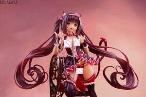 Image 3 - Японское аниме 1/7 Масштаб Сексуальная девушка Native NEKOPARA Chocola & Vanilla стул Ver. ПВХ фигурка стоящая модель коллекции 24 см