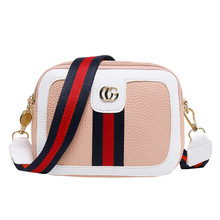 Luxury Handbags Women Bags Designer Wide Shoulder Strap Korean Style Fashion Bag Crossbody Small Square