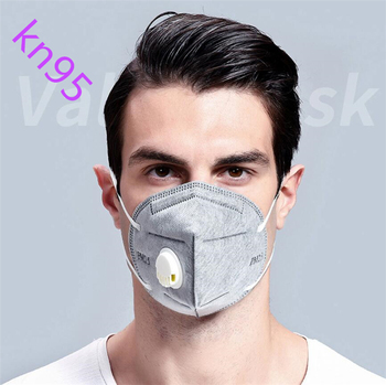 10pcs/set Folding KN95 Mask Anti-dust, Flu, Virus,Smoke Respirator Face Protection with Self-priming Filter With Retail Package